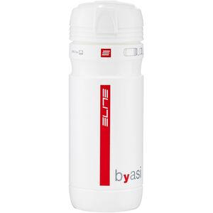 Elite Byasi Transportflasche 550ml weiß glänzend weiß glänzend