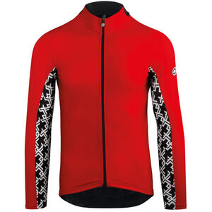 assos Mille GT Spring Fall LS Jersey Herren national red national red
