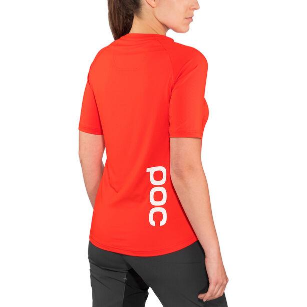 POC Essential MTB Tee Damen prismane red