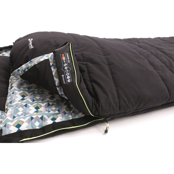 Outwell Camper Lux Double Sleeping Bag grau
