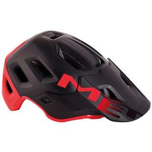 MET Roam MIPS Helm matt black/red
