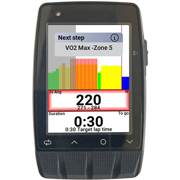 Stages Cycling Dash M50 GPS Fahrradcomputer black
