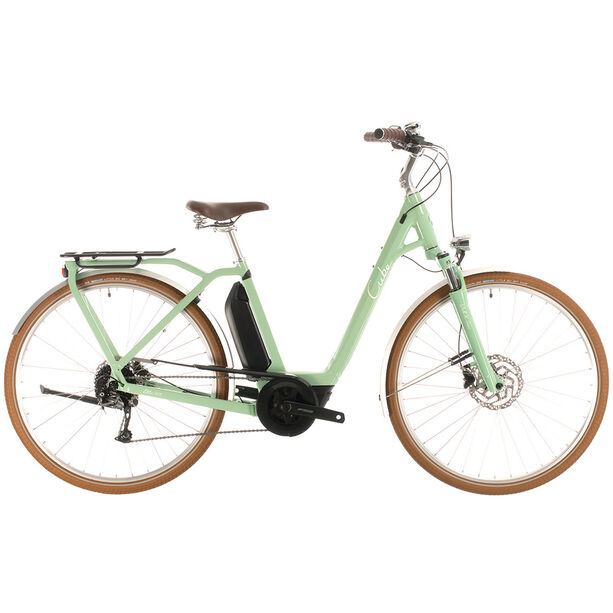 Cube Ella Ride Hybrid 400 Easy Entry green/white