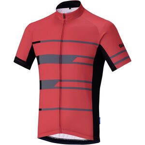 Shimano Team Kurzarm Trikot Herren red red