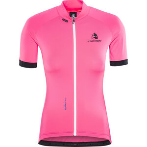 Etxeondo Maillot M/C Entzuna SS Jersey Damen pink/black pink/black