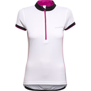 axant Elite Shortsleeve Jersey Women Damen white/pink white/pink