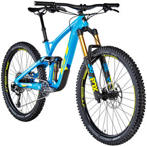 GT Bicycles Force Carbon Pro gloss cyan/gt yellow/deep navy gloss cyan/gt yellow/deep navy