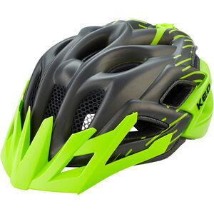 KED Status Jr. Helmet Kinder black green matt black green matt