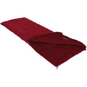 VAUDE Navajo 500 Syn S Sleeping Bag dark indian red dark indian red