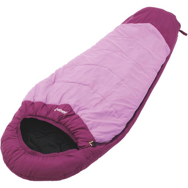 Outwell Convertible Junior Sleeping Bag Kinder magenta
