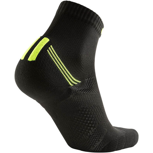 UYN Run Veloce Socks Herren black/yellow fluo