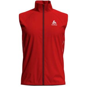 Odlo Zeroweight Windproof Warm Vest Men fiery red bei fahrrad.de Online