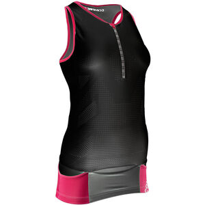Compressport TR3 Ultra Triathlon Tank Top Damen black black