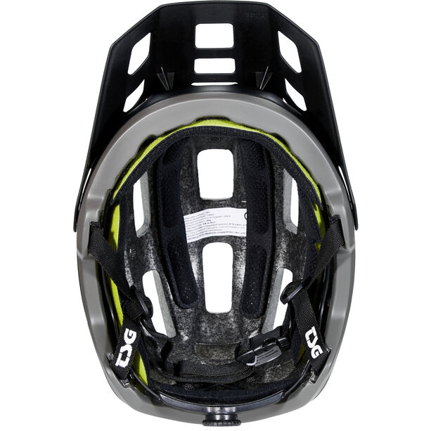 TSG Trailfox Solid Color Helmet satin black