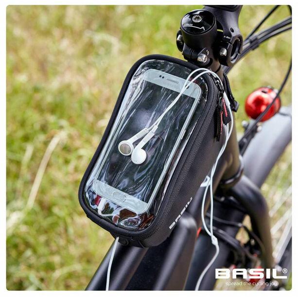 Basil Sport Frame Bag 1L schwarz