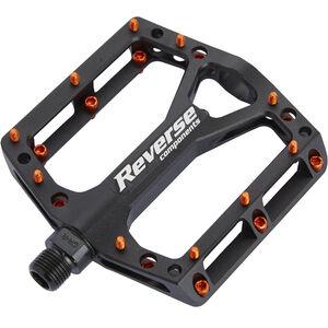 Reverse Black One Pedals black/orange