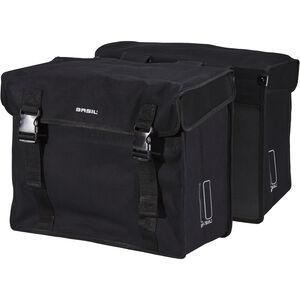 Basil Kavan Doppel-Gepäckträgertasche XL 65l schwarz schwarz