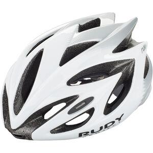 Rudy Project Rush Helmet white/silver shiny white/silver shiny