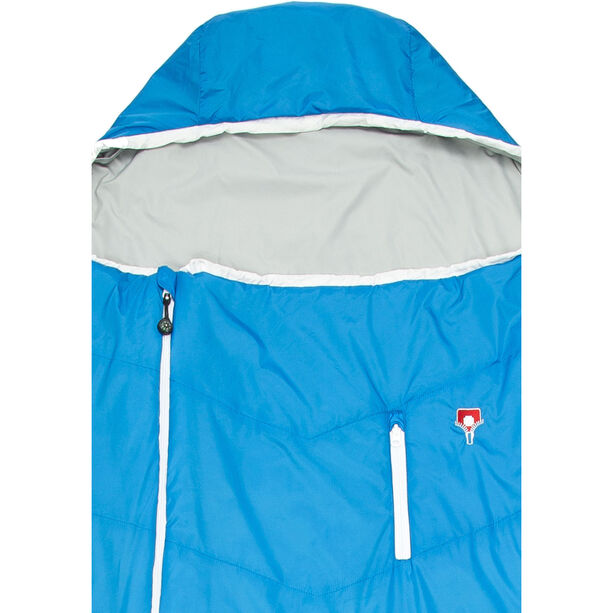 Grüezi-Bag Biopod Wool Plus Sleeping Bag imperial blue