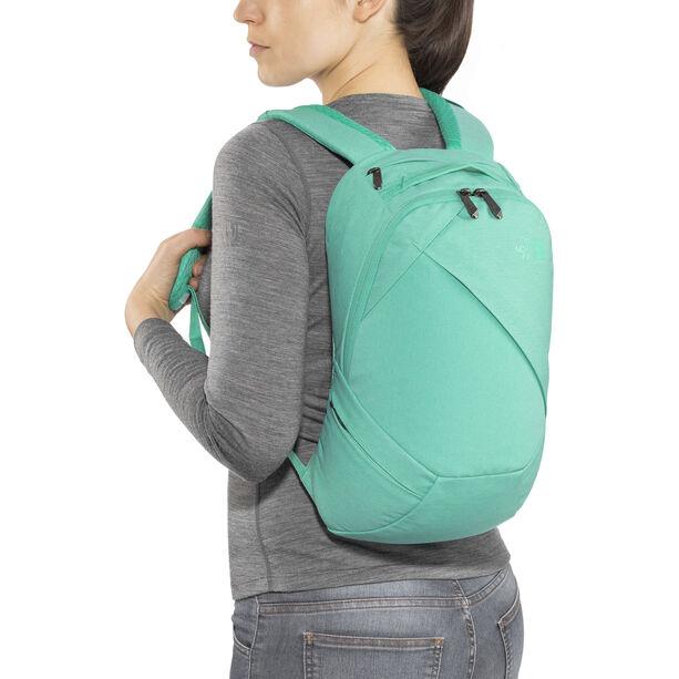 The North Face Electra Backpack Damen retro green light heather/bermuda green