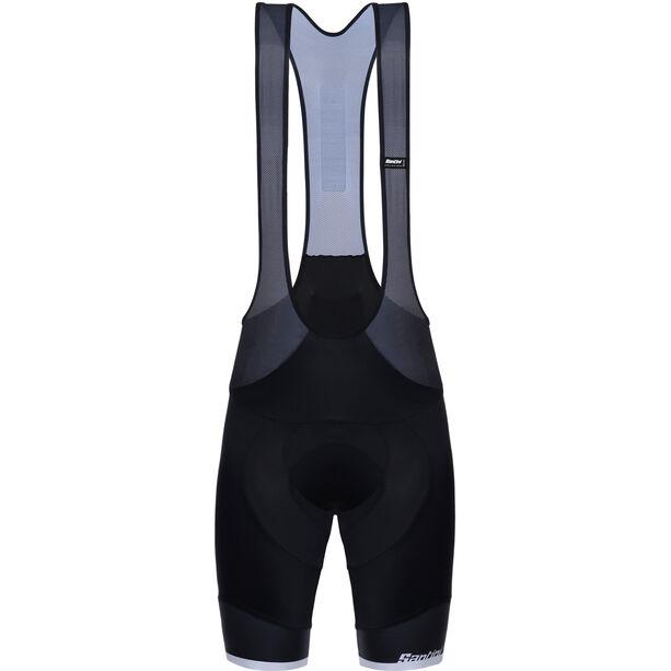 Santini Sleek 99 Bib Shorts Herren nero