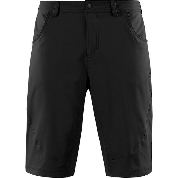 SQUARE Active Baggy Shorts inkl. Innenhose Herren black