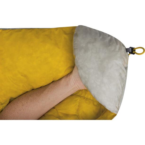 Sea to Summit Ember EbII Sleeping Bag Long light grey/yellow