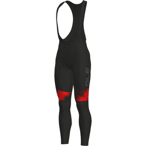 Alé Cycling Solid Pulse Bib Tights Herren black-bordeaux-red black-bordeaux-red
