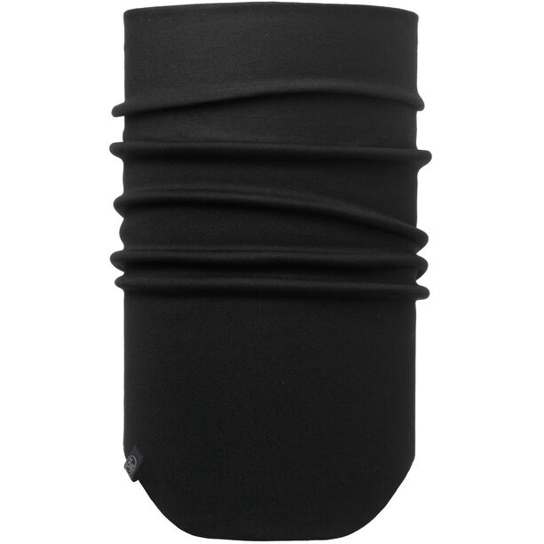 Buff Windproof Neckwarmer solid black