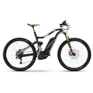 HAIBIKE XDURO FullSeven Carbon 10.0 Carbon/Silber/Orange matt bei fahrrad.de Online