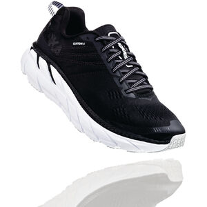 Hoka One One Clifton 6 Wide Schuhe Herren black/white black/white