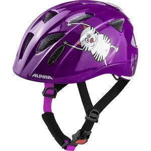 Alpina Ximo Flash Helmet purple cat bei fahrrad.de Online