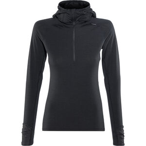 inov-8 Merino LS Zip Langarmshirt Damen black black