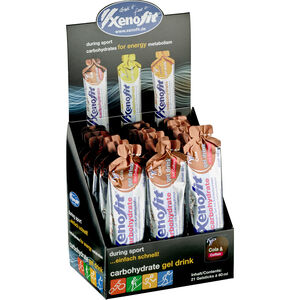 Xenofit Carbohydrate Hydro Gel Box 21x60ml Cola mit Koffein