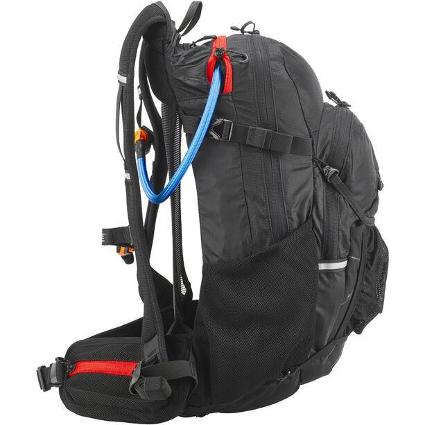 SOURCE Paragon Backpack 25 L Black/Red black/red