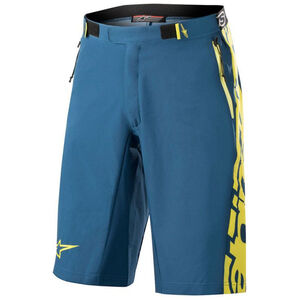 Alpinestars Mesa Shorts Men poseidon blue/acid yellow