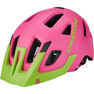 Cratoni Maxster Pro Helmet Kinder pink-lime matt pink-lime matt
