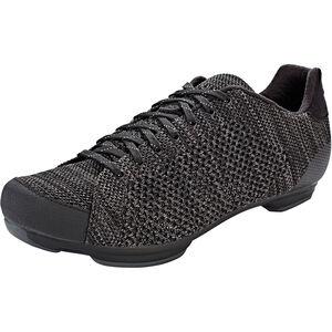 Giro Republic R Knit HV Shoes Herren black/charcoal heather black/charcoal heather