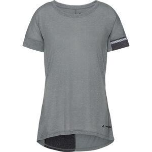 VAUDE Cevio T-Shirt Women pewter grey bei fahrrad.de Online