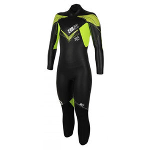 Z3R0D 365 Train Wetsuit Women Black/Fluo