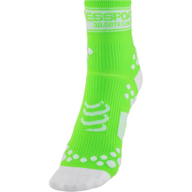 Compressport Racing V2 Socks fluo green