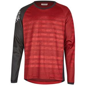 Protective Live & Loud LS Shirt Men dark red bei fahrrad.de Online