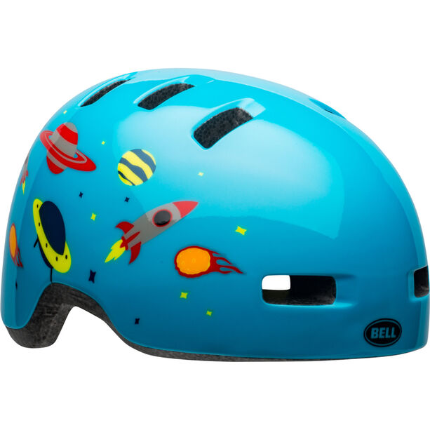 Bell Lil Ripper Helmet Kinder light blue space