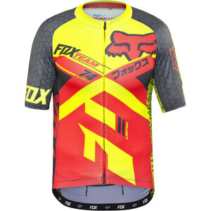 Fox Ascent Pro SS Jersey Herren red red