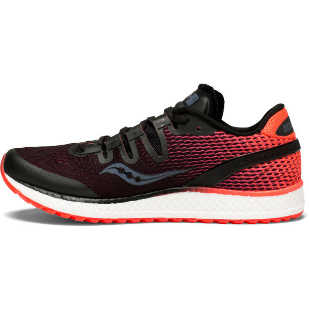 saucony Freedom ISO Schuhe Damen black/vizipro red