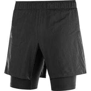Salomon Agile Twinskin Shorts Herren black black
