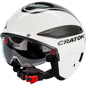 Cratoni Vigor S-Pedalec Helm weiß/anthrazit glanz bei fahrrad.de Online