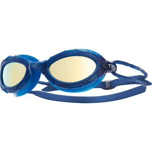 TYR Nest Pro Mirrored Goggles gold/navy gold/navy