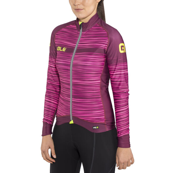 Alé Cycling Graphics PRR The End LS Jersey Women amarone red