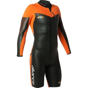 blueseventy Alliance Swimrun Wetsuit Men Orange bei fahrrad.de Online